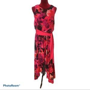 🌹Eliza J High-Low Floral Dress